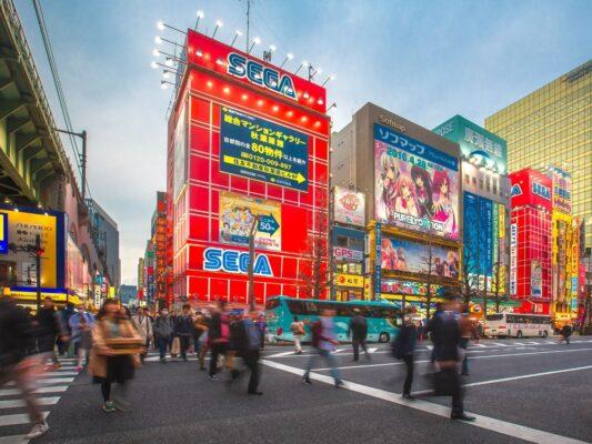 Myldretid i Japan