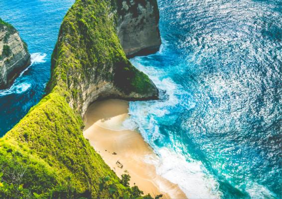 Strand på Bali