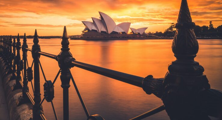 Solnedgang over Sydney