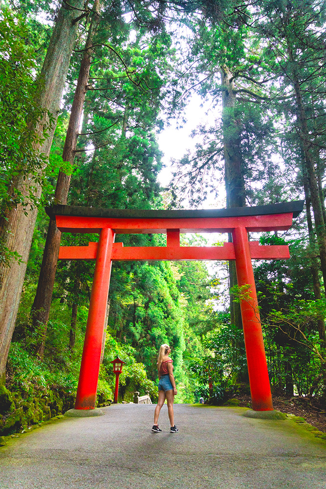 Hakone Torii Gate