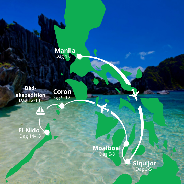 Grupperejse til Filippinerne kort